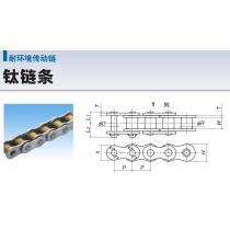 椿本TSUBAKI耐环境传动链钛链条